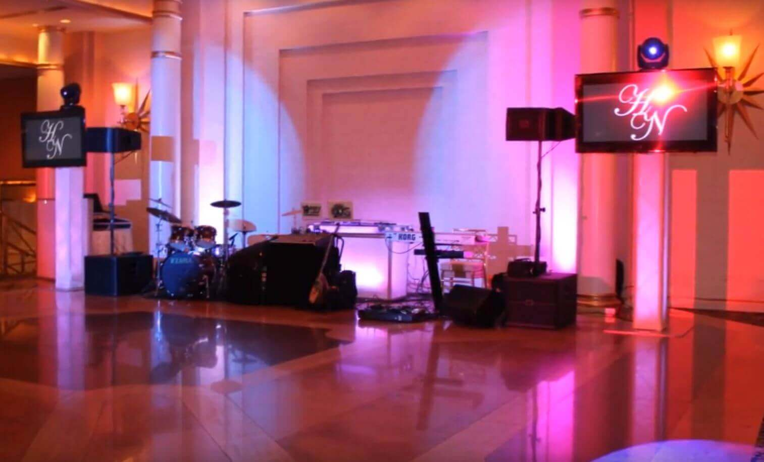 Intelligent Lighting Package Video | Greek Wedding Orchestra